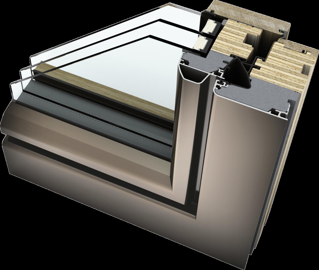 ambiente Holz/Aluminium HF 410