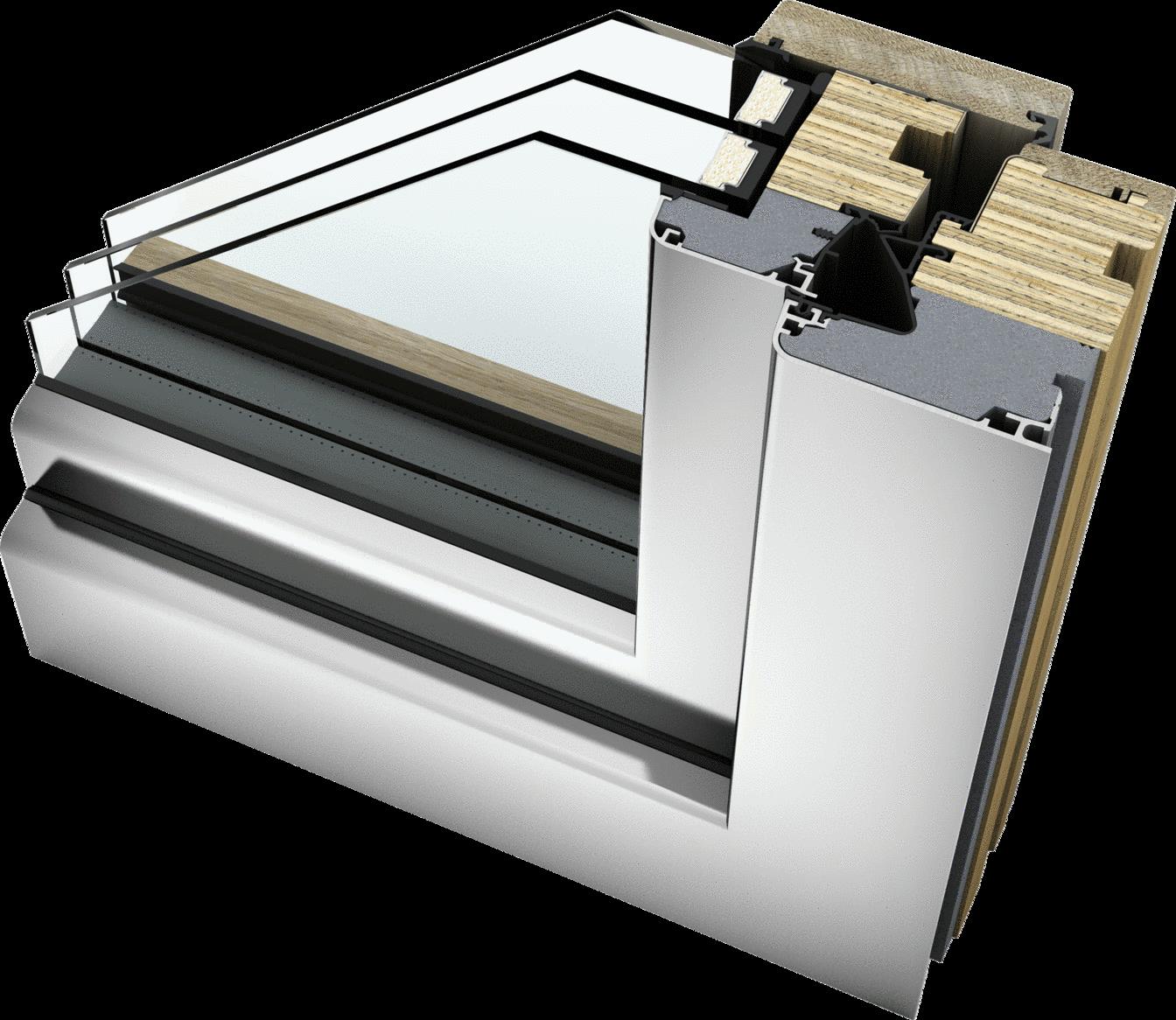 home soft Holz/Aluminium HF 410