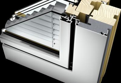 home soft Holz/Aluminium HV 350