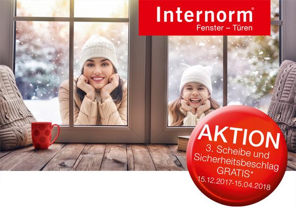 Internorm-Fenster Frühjahrsaktion 2018